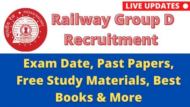 Railway Group D 2020 / 2021 Exam Date , Syllabus, Salary , Cut-off, admit card, physical test